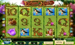 Игровой автомат Enchanted Meadow