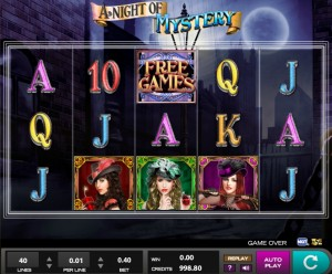 Игровой автомат Night of Mystery