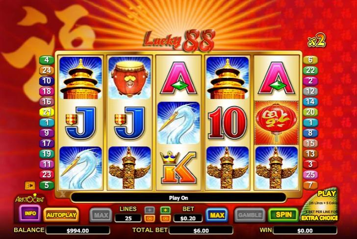 Игровой автомат Lucky 88