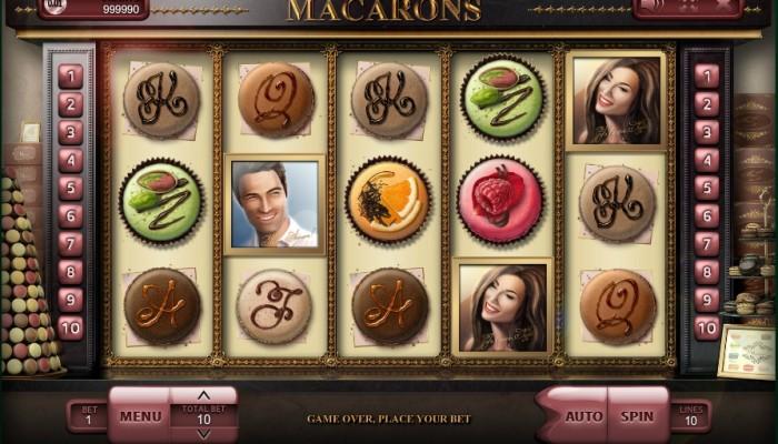 Игровой автомат Macarons