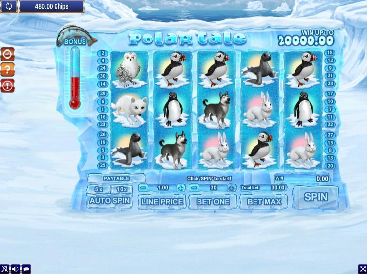 Игровой автомат Polar Tale