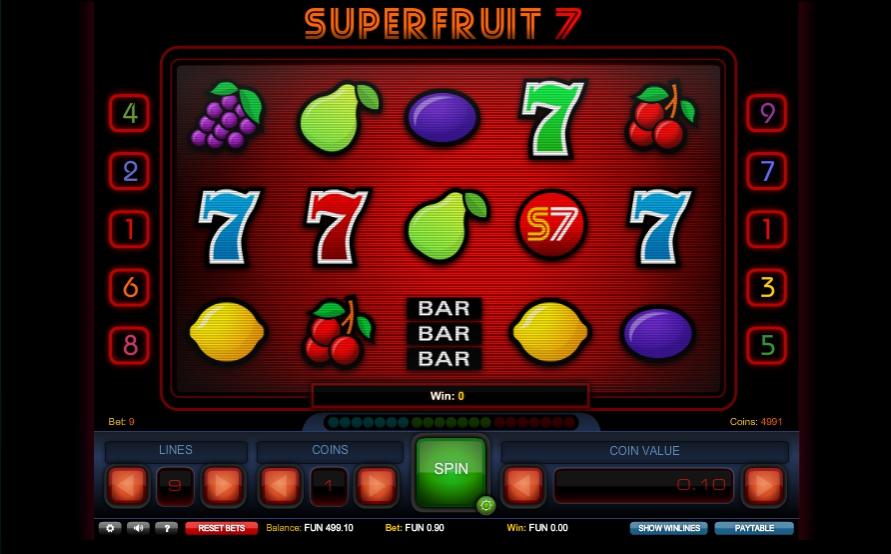 Игровой автомат Superfruit 7
