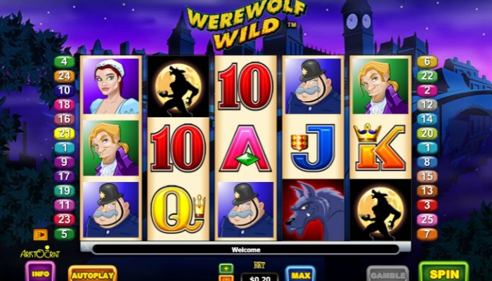 Игровой автомат Werewolf Wild