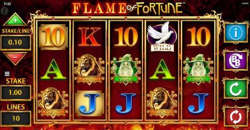 Игровой автомат Flame of Fortune