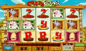 Игровой автомат Crazy Cows