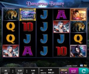 Игровой автомат Dangerous Beauty