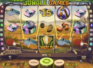Игровой автомат Jungle Goals