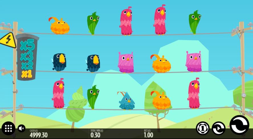 Игровой автомат Birds On A Wire