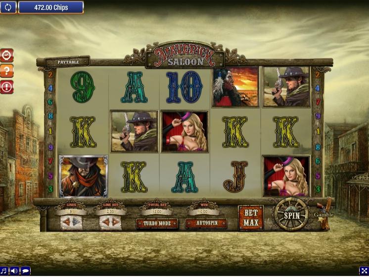 Игровой автомат Maverick Saloon