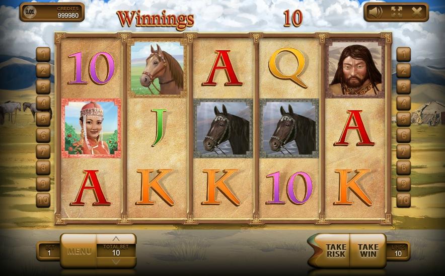 Игровой автомат Mongol Treasures