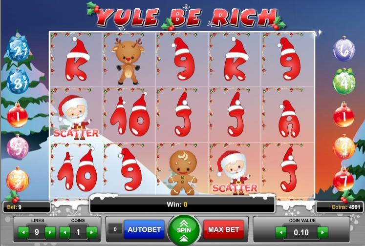 Игровой автомат Yule Be Rich
